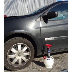 Bomba de mudança de óleo...