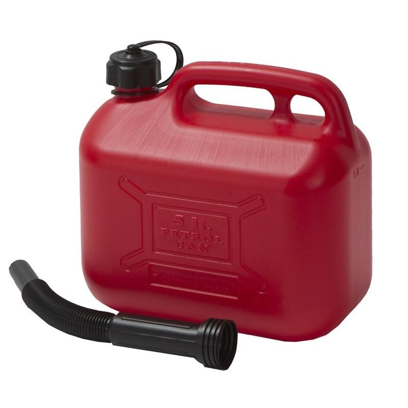 5 liters used oil...