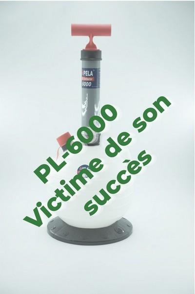 Pompe à vidange par aspiration PL-6000